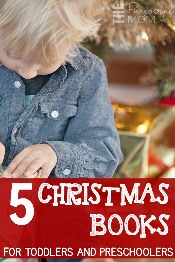 5 christmas books for toddlers and preschoolers