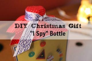 """DIY """"I Spy Bottle""""- Homemade Christmas Gift"""