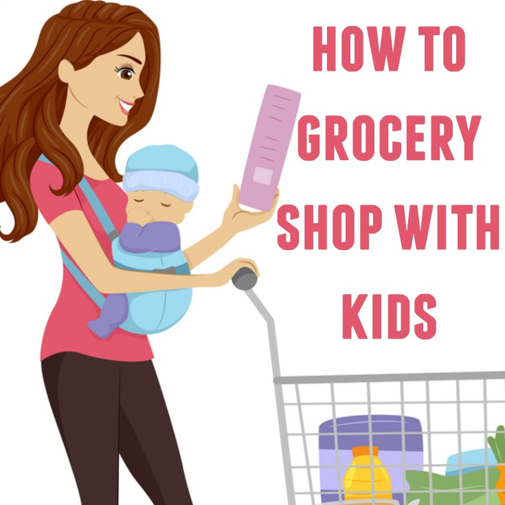 How to grocery shop with kids and not go crazy!