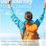 Our Journey to Living Debt-Free, Part 2