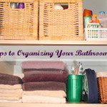 Five Steps to Organizing and Simplifying your Bathroom Closet