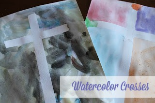 Watercolor Crosses A Simple Easter Craft The Purposeful Mom