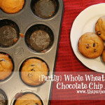 {Partly} Whole Wheat Pumpkin Chocolate Chip Muffins