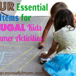 Four Essential Items for Frugal Kids Summer Activities – Spring Into Summer Day 3