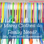How Many Clothes do Kids Really Need? Month One Update