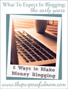 6 honest ways to make money blogging