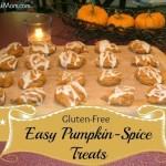 Gluten-Free Easy Pumpkin Spice Treats