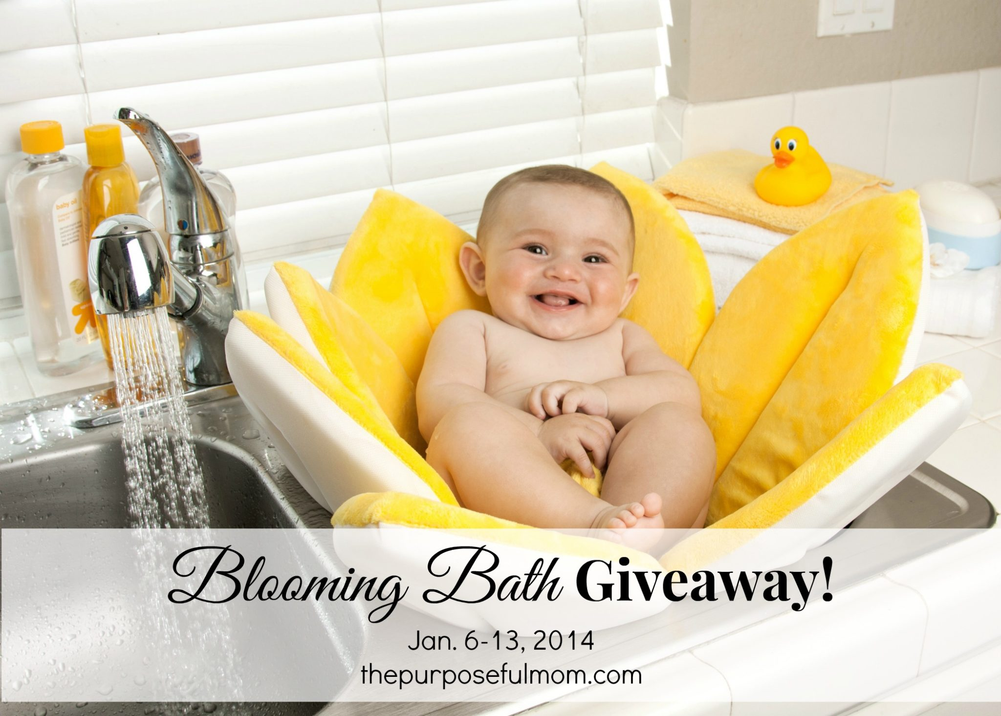 Blooming Bath Giveaway!