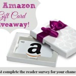 Thank YOU! {$50 Amazon Gift Card Giveaway and Reader Survey!}