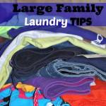 Large Family Laundry Tips