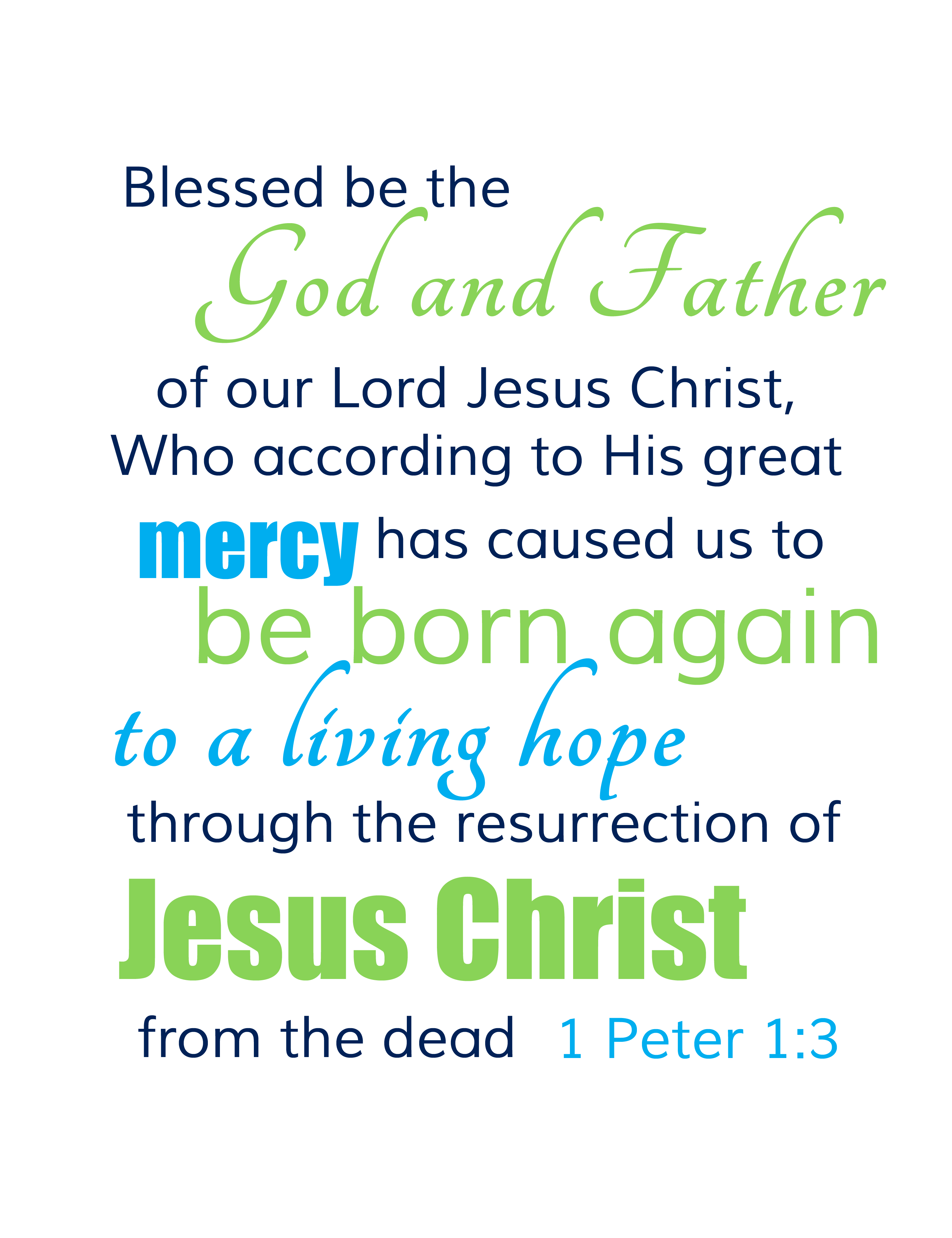 Easter Bible Quotes Free Easter Scripture Verse Printable For Your Home  The