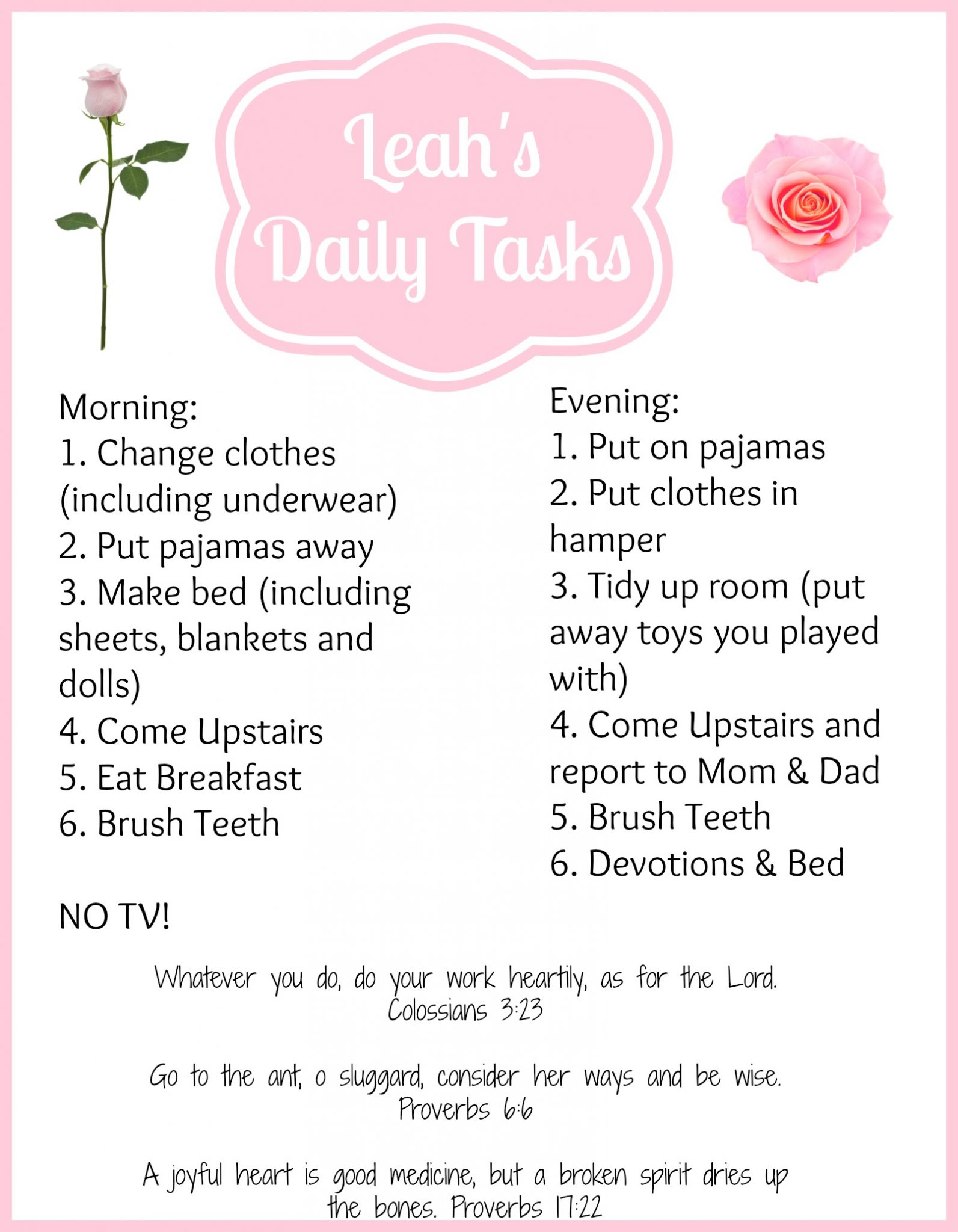 8 Tips for Getting Kids to Do Chores {Without Complaining ...