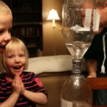 How to Make a Tornado {Kids Science Experiment}