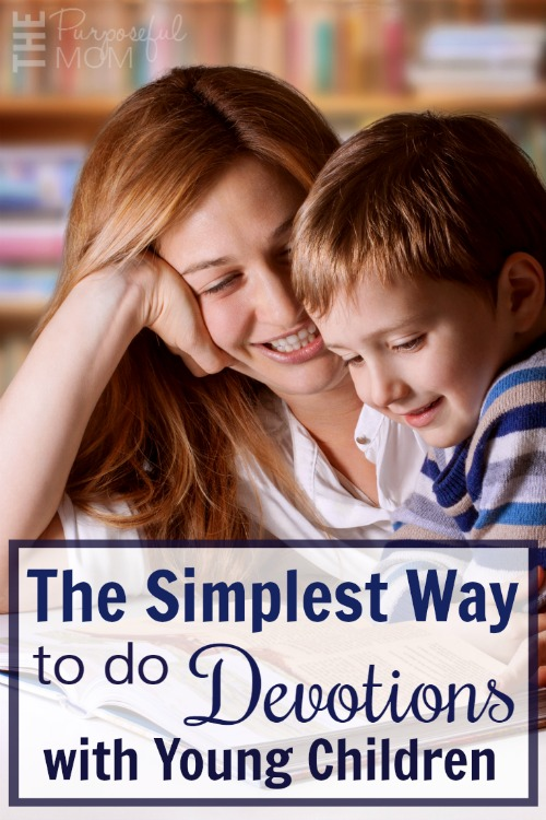 Sometimes doing devotions with your kids when they're young can be tough! But there is a simple method that you can easily implement in your home to teach the Bible to even the youngest child! Have you done this?