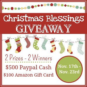 Christmas Blessings Giveaway date 300x300