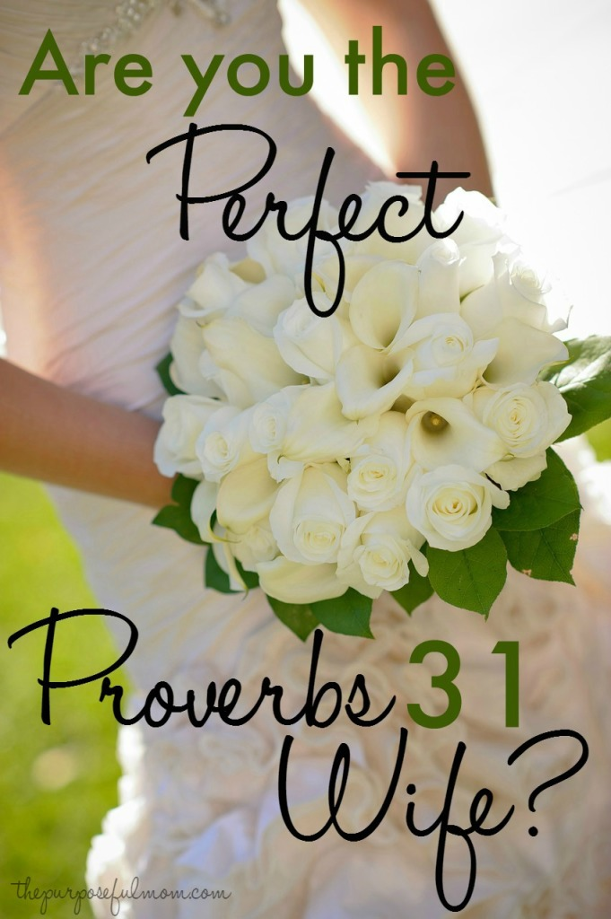 Are you the perfect Proverbs 31 wife? The truth about this intimidating chapter of the Bible.