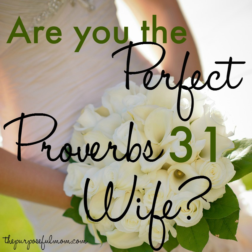Are you the perfect proverbs 31 wife?