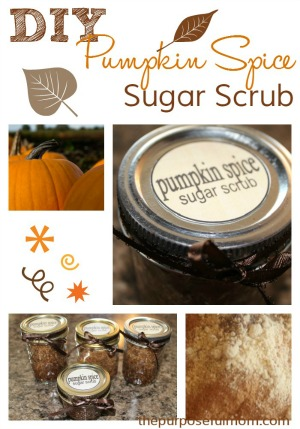 Homemade Pumpkin Pie Spice Sugar Scrub