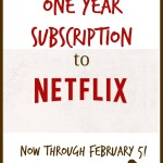 Win a Year's Subscription to Netflix! {Netflix Stream Team Post for January}