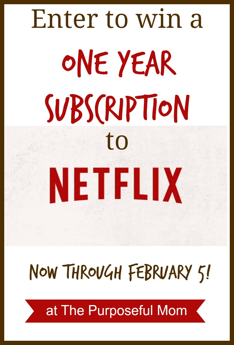 Win a year's subscription to Netflix Instant Streaming! Existing members can enter as well.