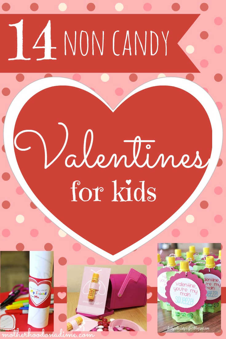 14 Non candy Valentines for kids!