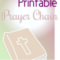 Free Lenten Prayer Chain Printable- 40 Days of Scripture and Prayer Prompts for Kids and Families