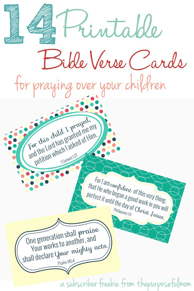 14 Bible Verses Every Mom Can Pray Over Her Children - The