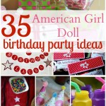 35 Ideas for an American Girl Doll Themed Birthday Party