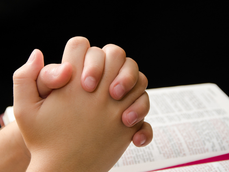 teach your child how to pray