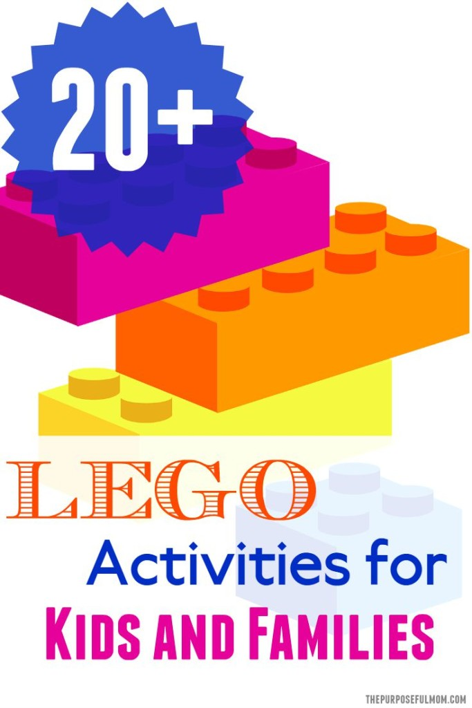 20 lego activities for kids and families
