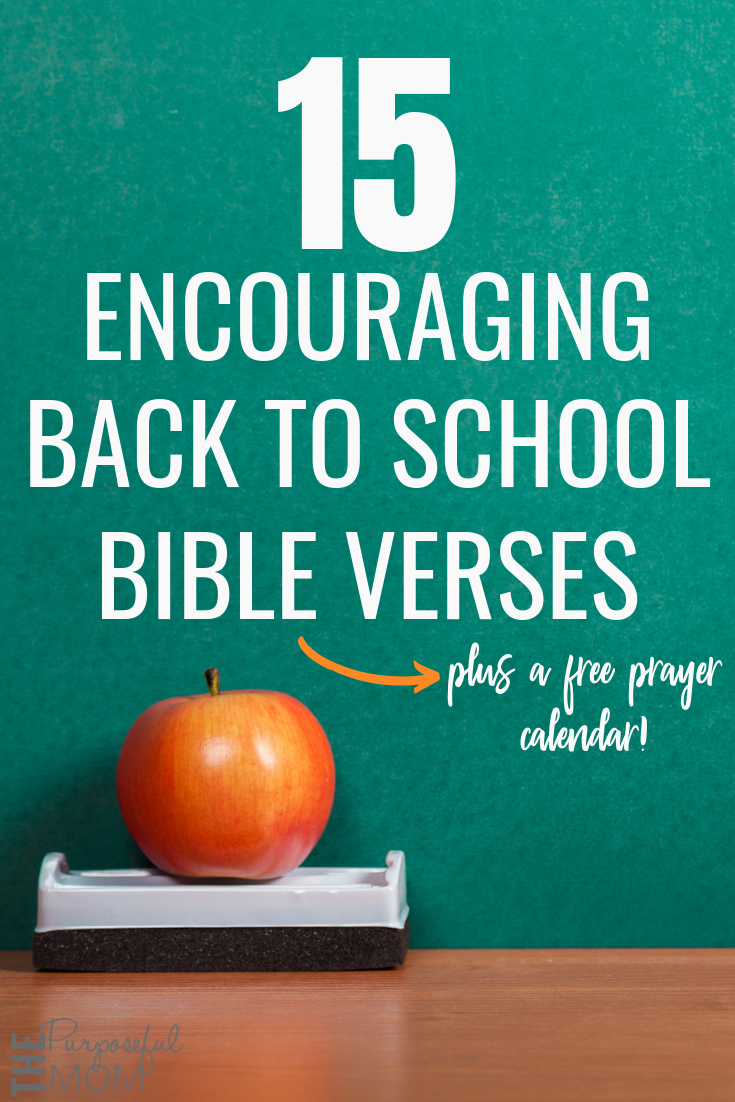 back to school bible verses