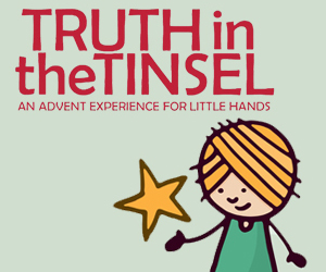 truth in the tinsel an advent experience for little hands review