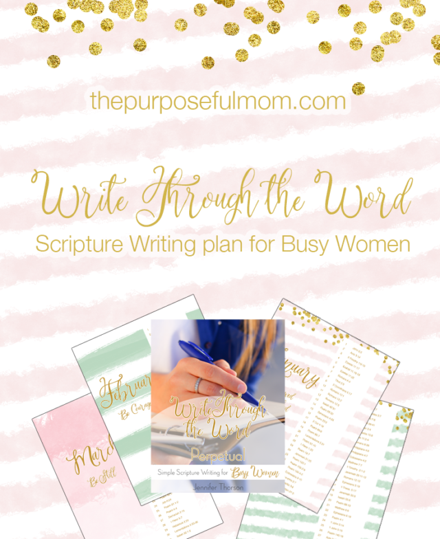 Scripture writing plans for those with an anxious heart