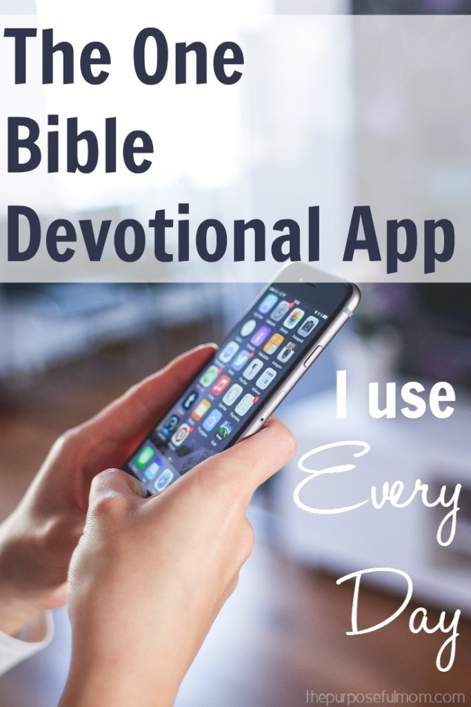 The one Bible devotional app I use every day (you need this one right now!)