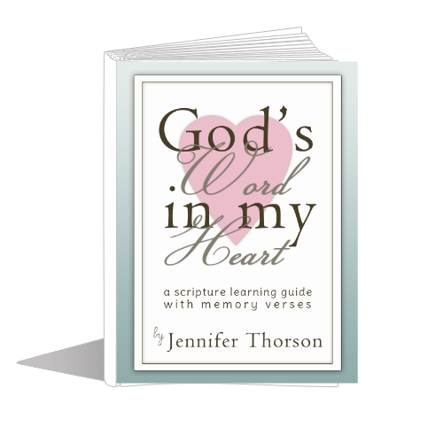 God's Word in My Heart: A Scripture Learning Guide with Memory Verses