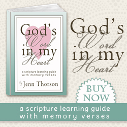 God's Word in My Heart Scripture Learning Program with Memory Verses
