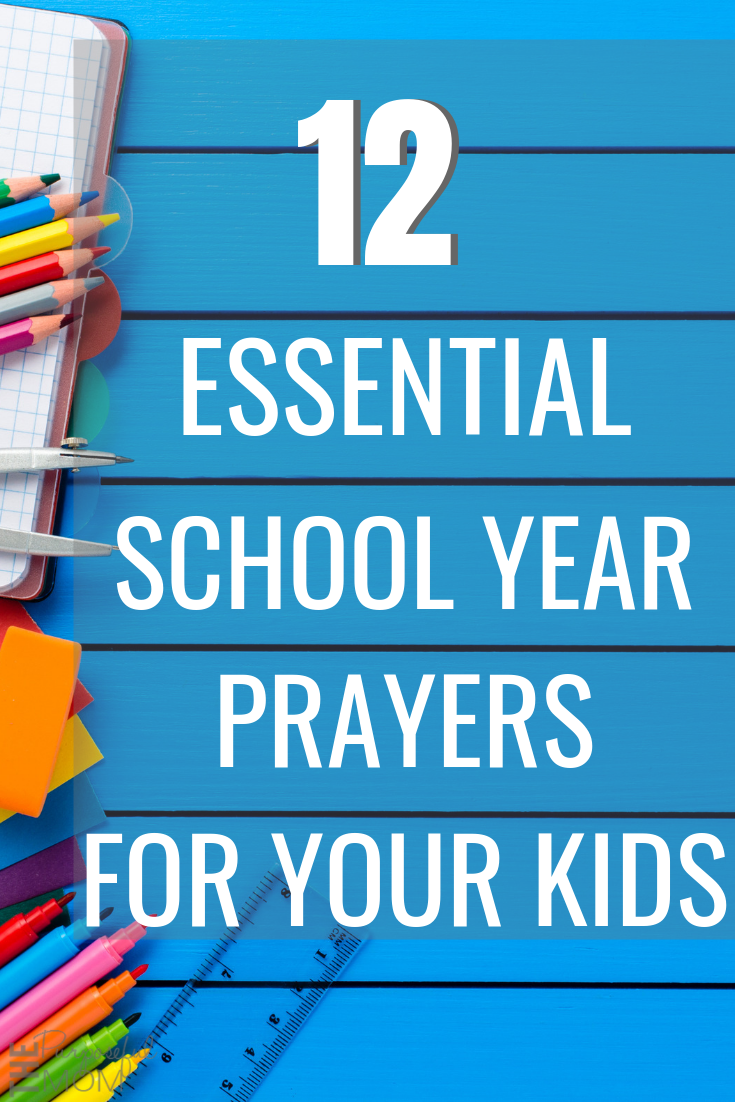 school year prayers for your kids