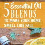 5 Essential Oil Blends to Make Your Home Smell Like Fall!