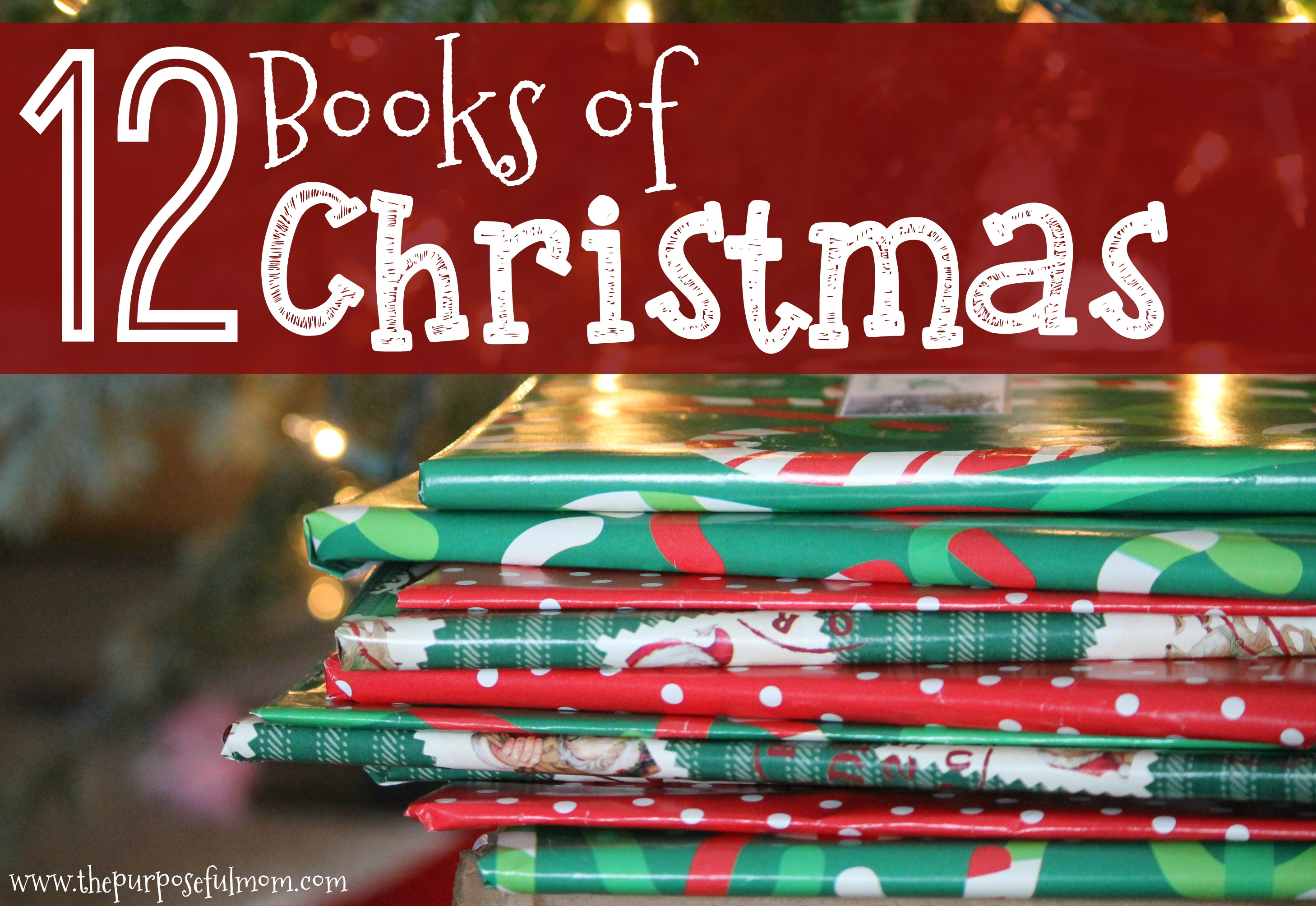 12 books of christmas how to start this christmas family. Black Bedroom Furniture Sets. Home Design Ideas