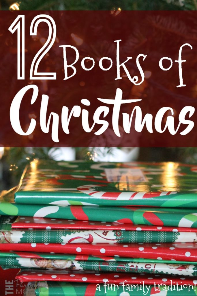 12 books of Christmas - a fun family tradition to get you reading aloud with your kids and enjoying the Christmas season!