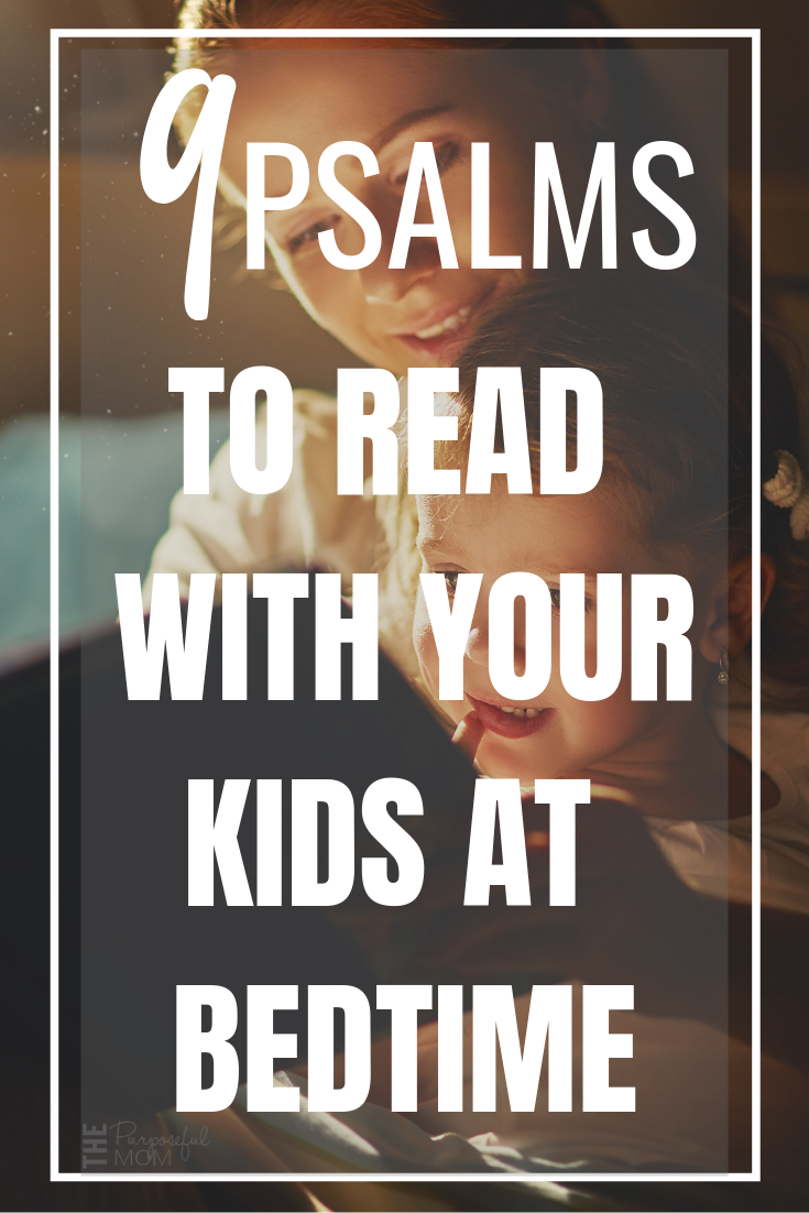 PSALMS TO READ WITH YOUR KIDS AT BEDTIME
