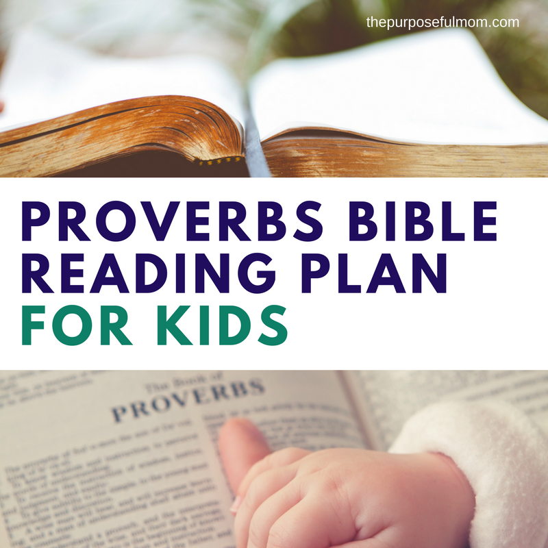 photo about Printable Devotions for Tweens identified as Proverbs Bible Reading through Program for Little ones - The Practical Mother