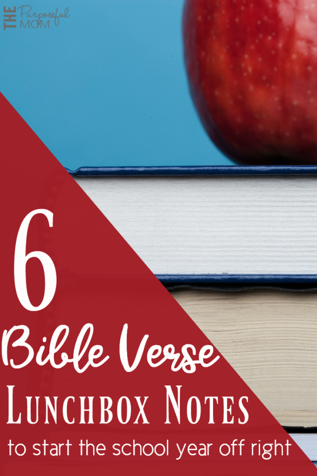 Download these free Bible verse lunchbox notes to send to school with your kids and remind them of how much they are loved!