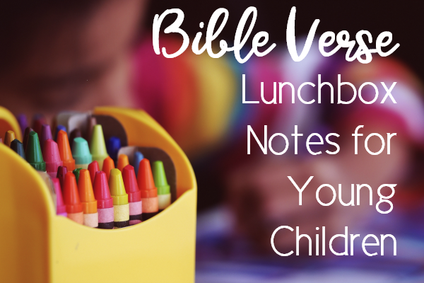 bible verse lunchbox notes