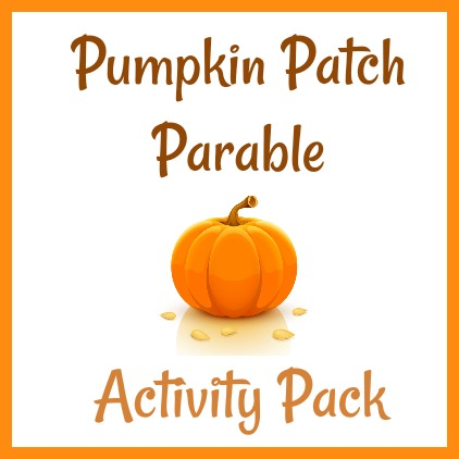 image about Pumpkin Patch Parable Printable referred to as Pumpkin Patch Parable Match Pack! - The Practical Mother