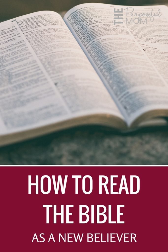 How to read the Bible as a new believer