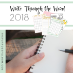 Write Through the Word: Simple, Effective Scripture Writing for Busy Women