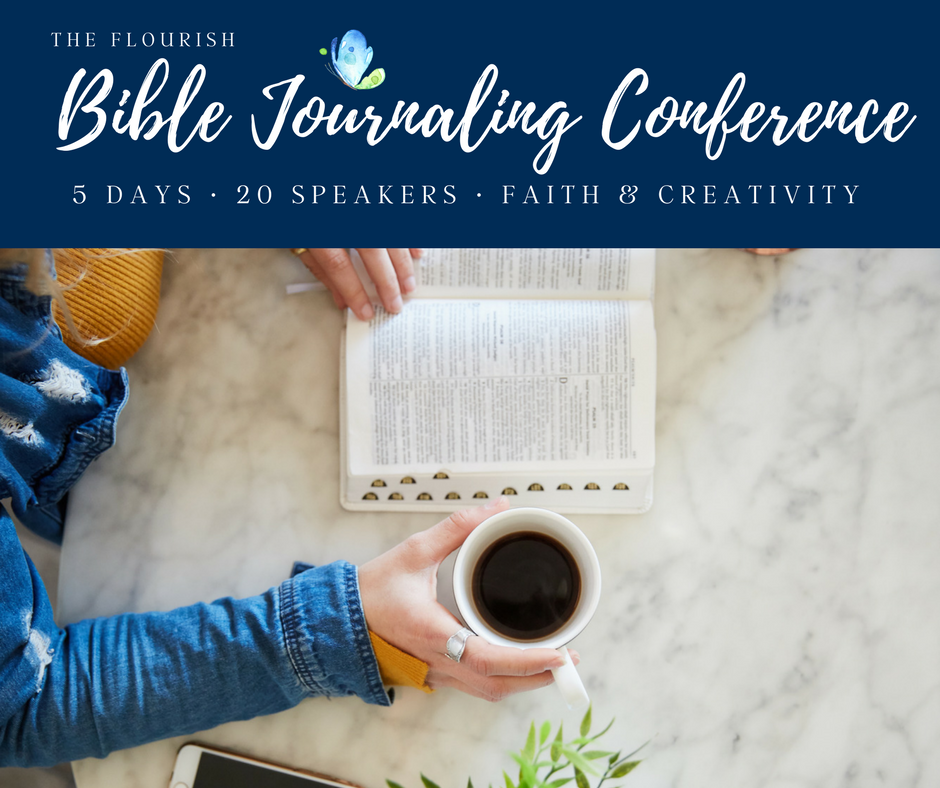 flourish Bible journaling conference free