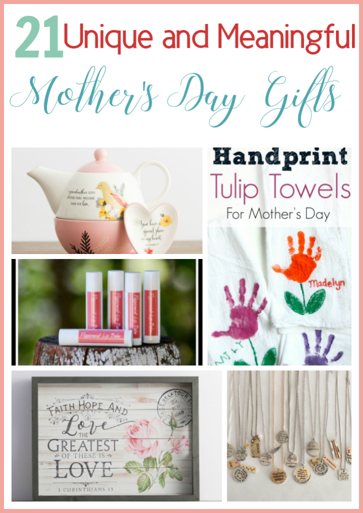 unique and meaningful mother's day gift ideas
