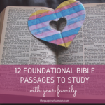 12 Scripture Passages to Learn with Your Kids This Summer